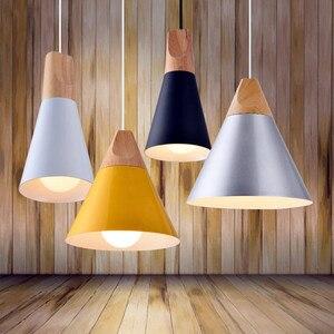 Image 5 - LukLoy Modern Kolye Tavan Lambaları Loft Mutfak LED kolye Işıkları Hanglamp Asılı aydınlatma armatürü Nordic Armatür