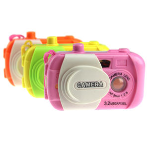 Toys Kaleidoscope Educational-Toys Gifts Baby Kids Children Color Simulation Camera-Shape