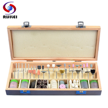 RIJILEI 228PCS/Set Mini Rotary Grinding Polishing Drill Cutting Set Electric Grinder Tool Accessories DIY Kit Power Tool