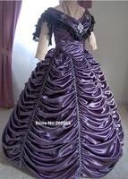1800 s Викторианской Платье Танец Гражданская Война Бальное Платье 1860 s Свадебные Бальное платье Вечер Формальные