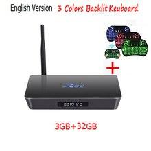 Оригинальный 3 ГБ 16 ГБ/32 ГБ X92 Amlogic S912 Android 6.0 ТВ коробка Восьмиядерный KD плеер 16.1 полностью загружен 5 г Wi-Fi X92 Smart Декодер каналов кабельного телевидения