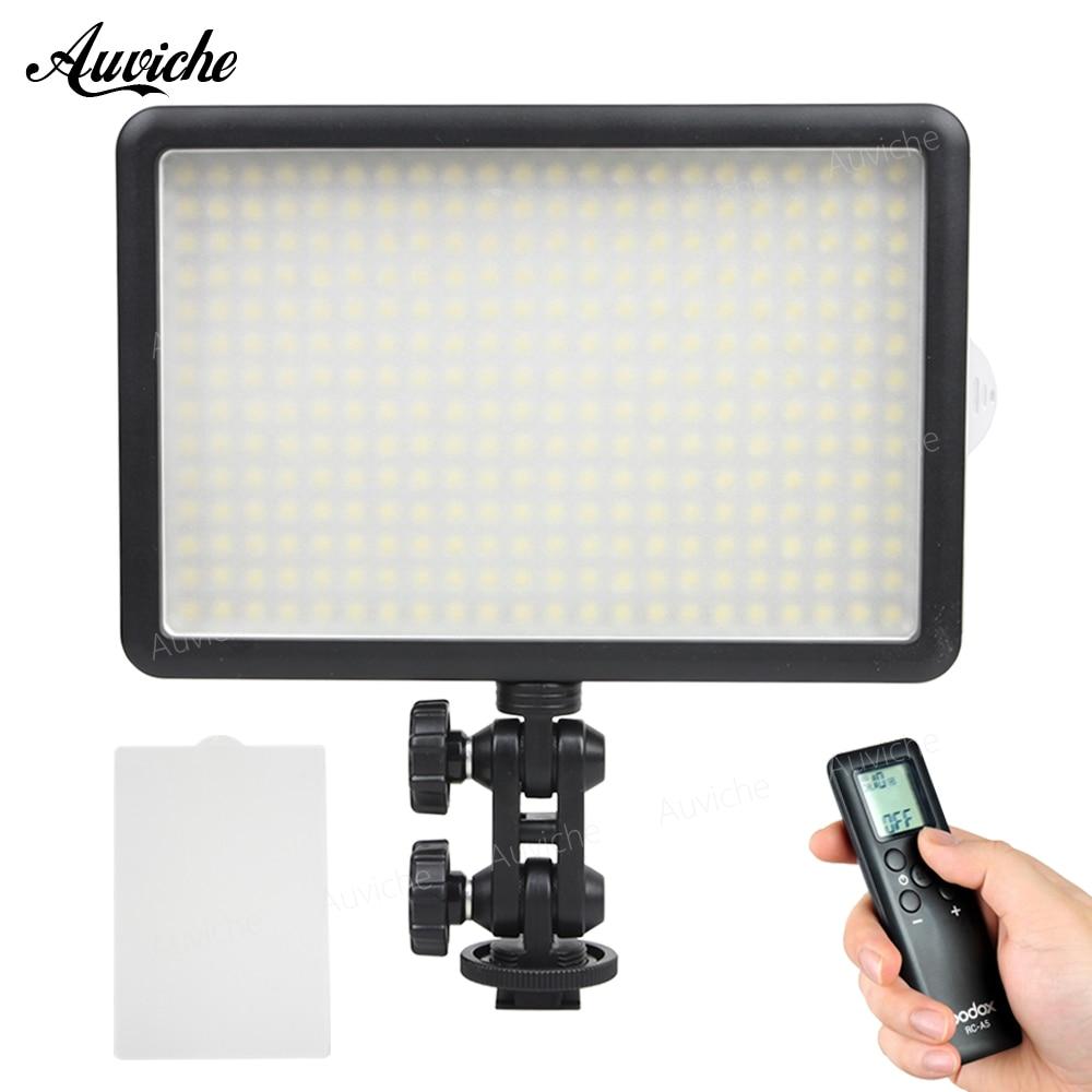 Godox LED308C 3200-5600 K LED Vidéo LED lumière pour Appareil Photo REFLEX NUMÉRIQUE Caméscope Remplir Lumière pour le Mariage Nouvelles Entrevue Macro photographie