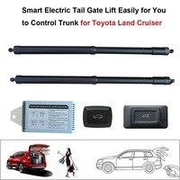Авто аксессуары смарт Электрический хвост ворот подъем легко для вас, чтобы Управление магистрали костюм для Toyota Land Cruiser Управление с помощ