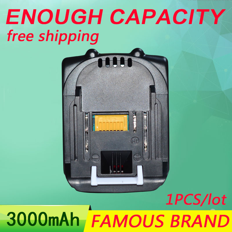 14.4V 3000mAh Tool Rechargeable Li-ion Battery BL1430 for Makita BHP440RFE BDF440RFE BTW250RFE BTD133RFE power batteries power tool battery hit 25 2v 3000mah li ion dh25dal dh25dl bsl2530 328033 328034 page 1