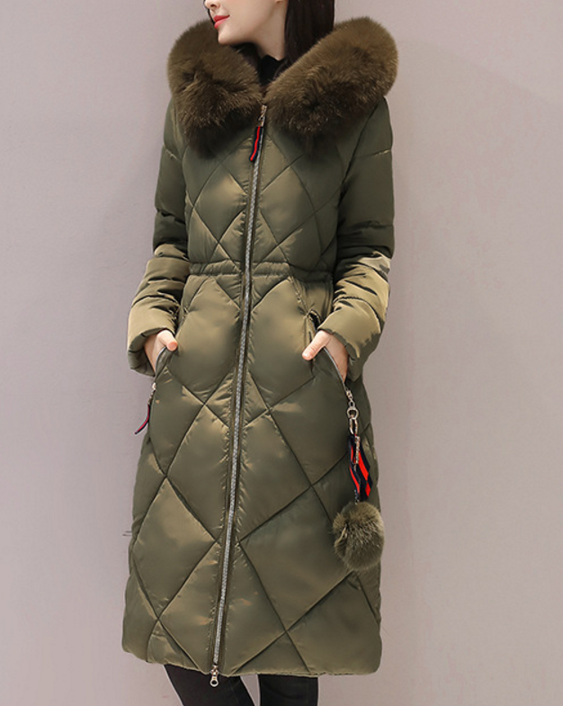 2017nter Duck Down Jacket Women Long Coat Parkas Thickening Female Warm Clothes Rabbit Fur Collar High Qua Wility Plus Size down the rabbit hole