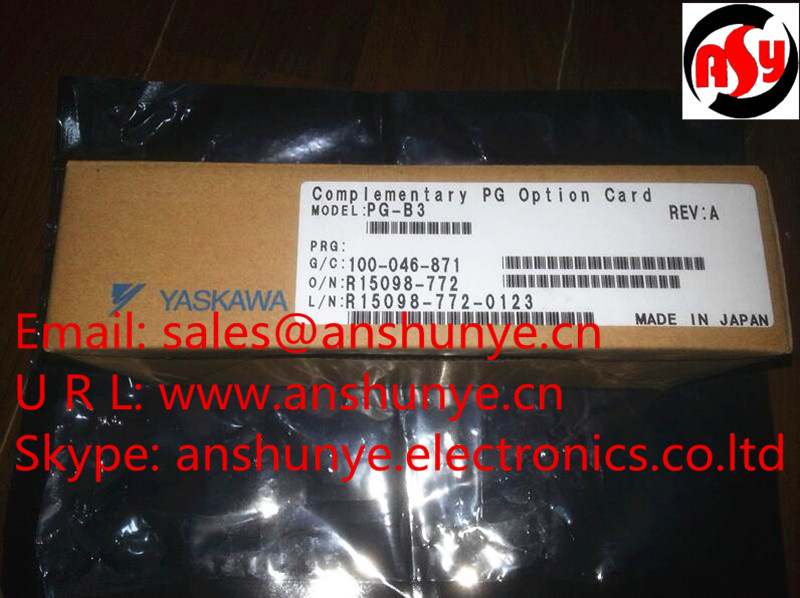 NEW YASKAWA AC Drive Converter Communication Card   PG-B3   Complementary PG Option Card ,BRAND-NEW IN ORIGINAL PACKAGING