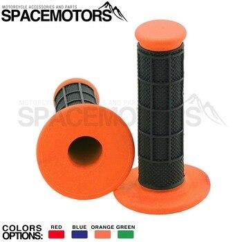 De caucho naranja agarre para moto manillar moto rbike Cruz truco dirtbike moto EX EXC EXC-F SX SXF 125, 150, 200, 250, 450, 525 cc