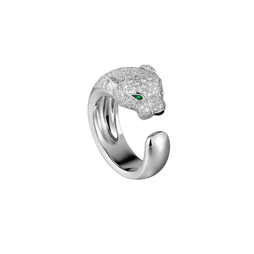 Exquisite Gold Silver Leopard Head Wedding Engagement Rings Micro CZ Jewelry Green Eye Carter Love Rings for Women Bague Femme fashion party jewelry rings for women gold color cz snake dames ringen design christmas gift bague femme open rings ka0167