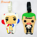 Funko Pop Suicide Squad Luggage Tag Kids Harley Quinn Pendant Marvel Figurine Dolls Toy Funko Birthday Party Favor Suicide Squad