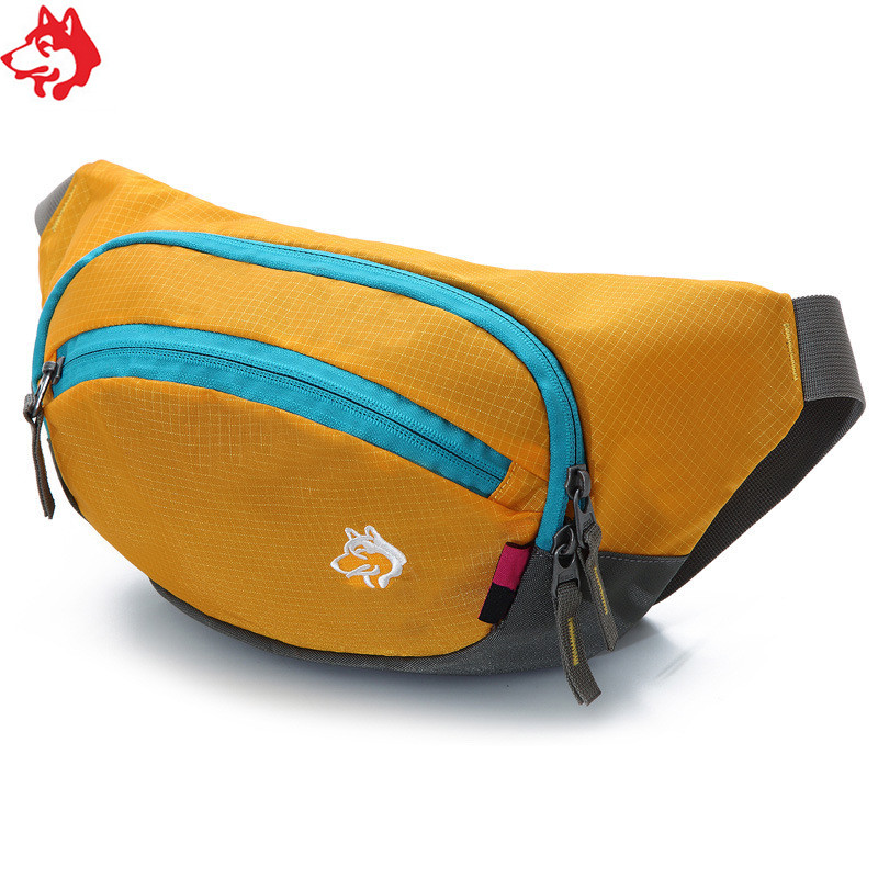 CY-084 Small Size Yellow/Green/Red/Blue Good Quality Waist Bag For Riding  Hiking  Camping Running Men Waist Pack
