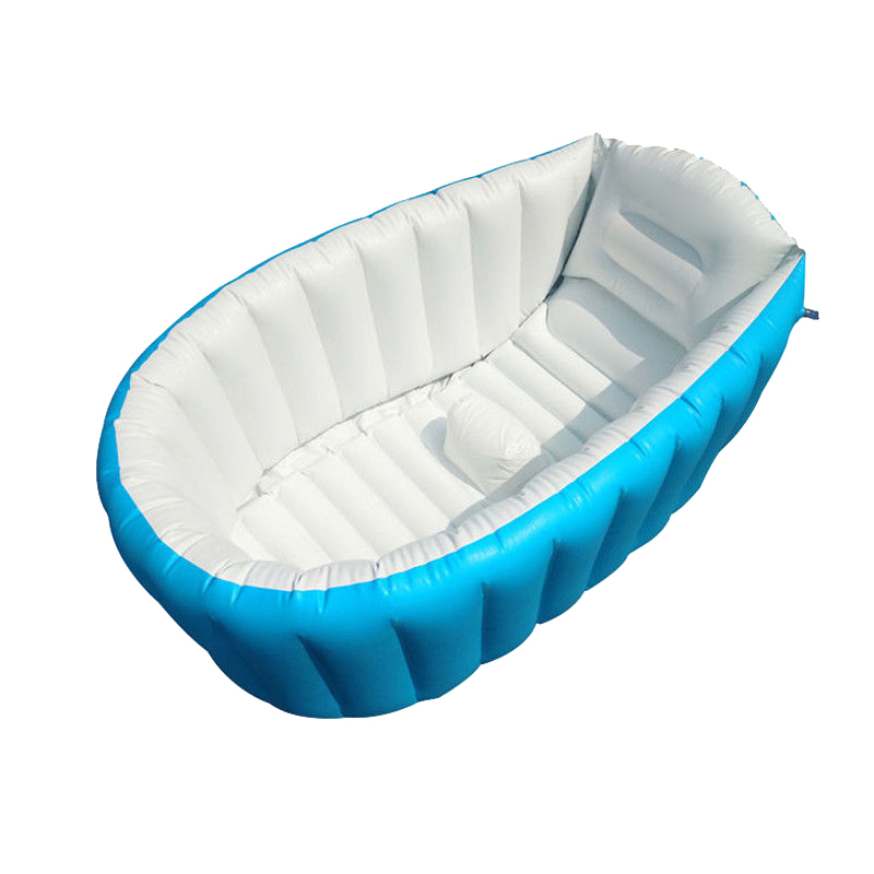 0 3 Years Baby Inflatable Bathtub Pvc Thick Portable Bathing Bath