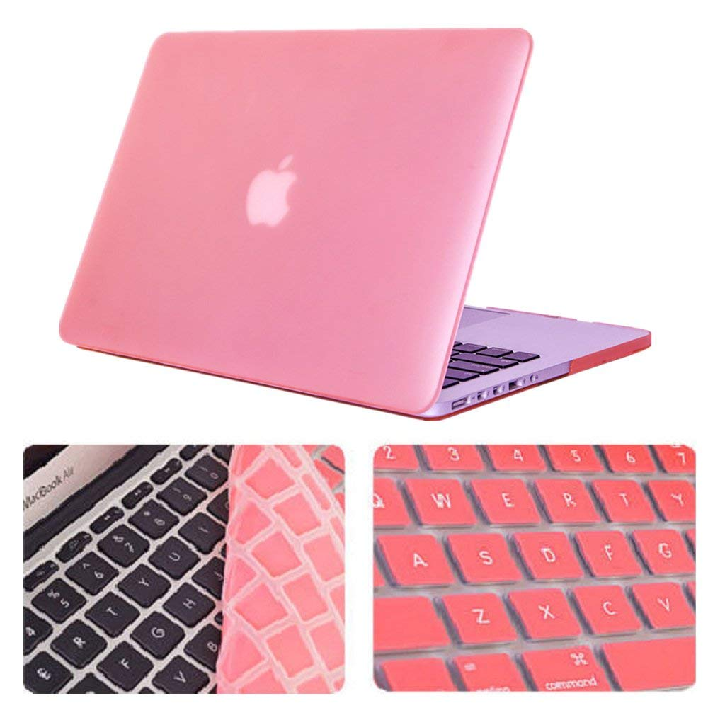 все цены на Matte Mac Air 13 Plastic Case Laptop Hard Cover for Macbook Air 11.6 13.3 15 Pro Retina Notebook Sleeve Case Capa+Keyboard Cover