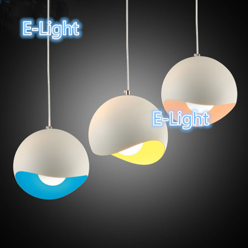 3pcs round or rectangle ceiling led pendant light sitting room dining room aluminum droplight creative ceiling lantern pendant lighting