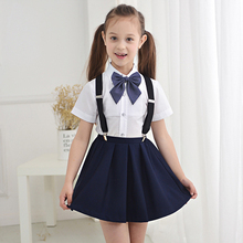 Figwit Kids Teen Girl Mini Skirt Red Blue Solid Plaid School Communion Summer Princess Formal for Age 7 9 11 13 15 Years