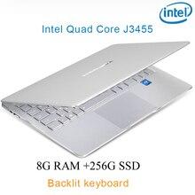 "P9-18 silver 8G RAM 256G SSD Intel Celeron J3455 21 Gaming laptop notebook desktop computer with Backlit keyboard"""