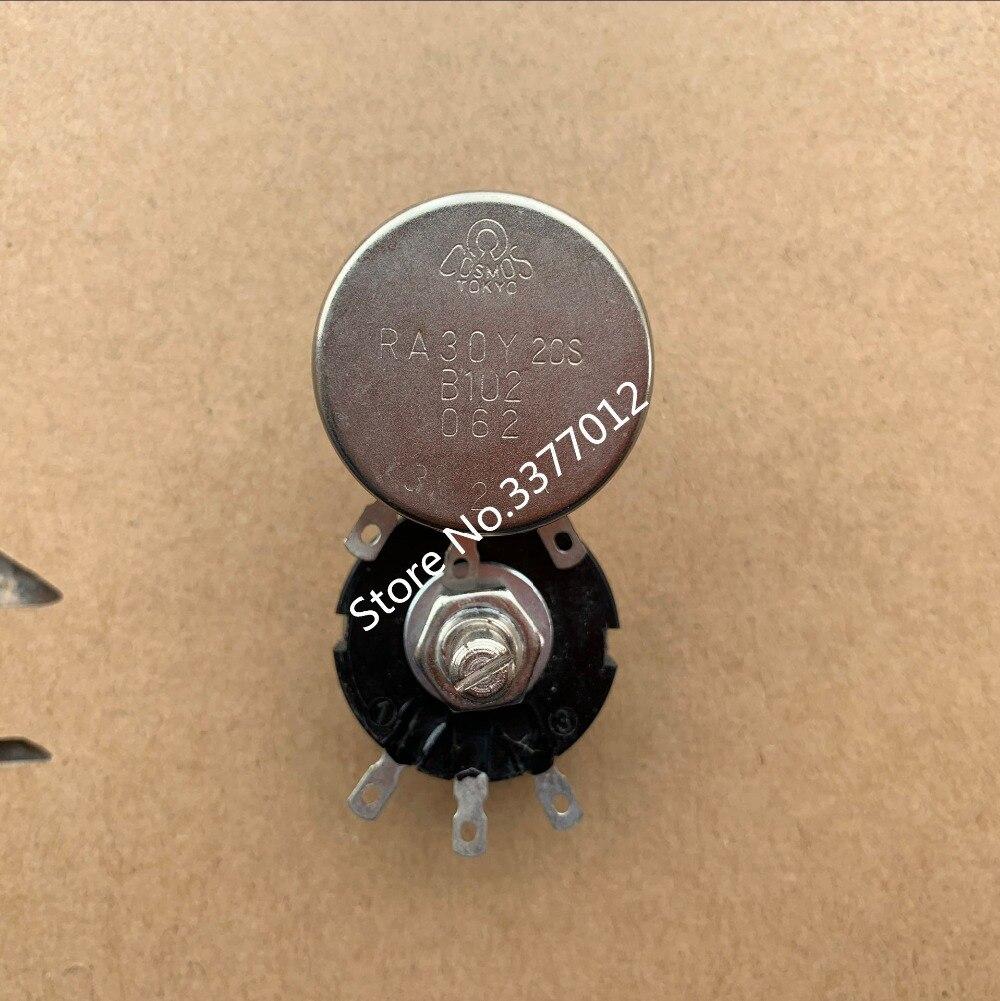 Японский переключатель, оригинальное стандартное сопротивление 30y20s B102, круглая длина вала B1K, регулируемое сопротивление 20 мм