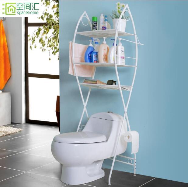 Toilet rack home bathroom rack washing machine in Storage Holders Racks from Home Garden