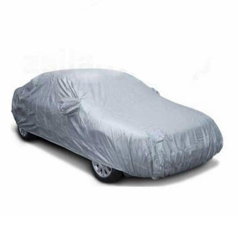 450 170cm Durable Indoor Outdoor Full Car Covers Sunproof Waterproof Resistant Protective Anti UV Scratch Sedan