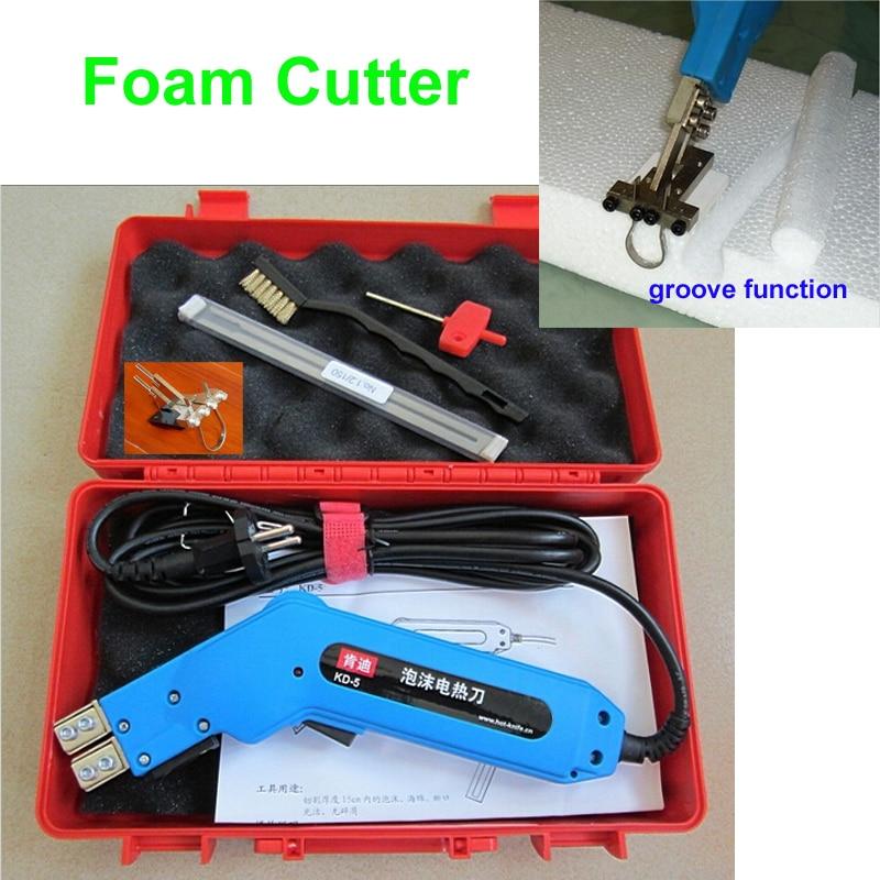 Electric Hot font b Knife b font Foam Cutter Heat Wire Grooving Cutting Tool Fast Free