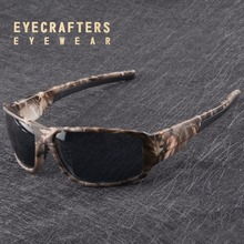Mens Camo Camuflaje gafas de Sol Polarizadas Gafas de Sol Hombre Macho 2017 Corrió Oferta Especial Oculos Masculino Gafas De Sol de Moda