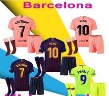 cb6a6eebc44 Top 2018 MESZ Jersey soccer 2019 Barcelona Camisas Dembele Messi INIESTA  INIESTE football shirt 18 19