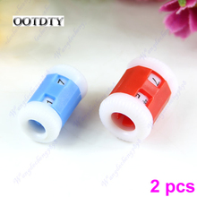 OOTDTY 2pcs Plastic Pride Row Counter 2 Sizes Knit Knitting Needles dorp shipping