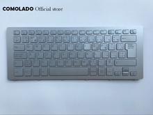 CF Canada Keyboard for SONY VPC SVF15N SVF 15N SVF15N18SCB silver laptop keyboard  Layout new laptop keyboard for sony vaio vpc y vpcy series sp layout