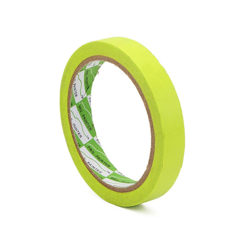 25m Green High Temperature Single Sided Adhesive Vinyl Fine Line Masking Tape Car Auto Body Paint Tape