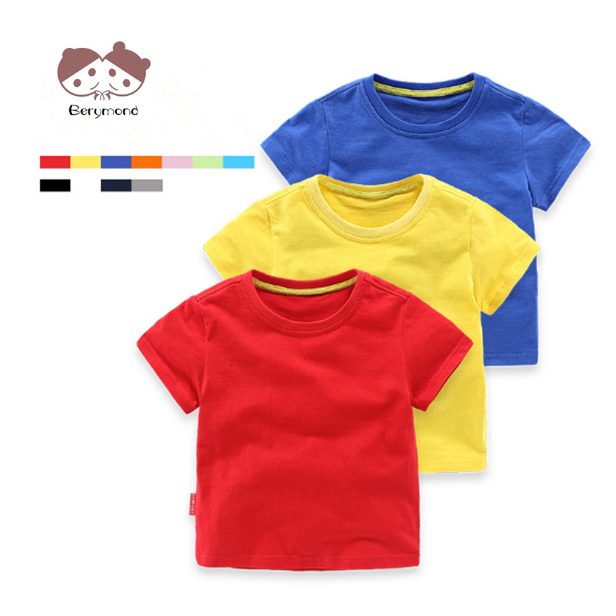Aliexpress Buy Colorful Childrens Shirts 1 6 Years Old Kids