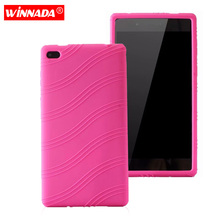 Silicone case for Lenovo Tab 7 Essential cover for Tab 4 7 Essential / Tab4 7 Essential / TB-7304X protective tablet case coque dhl ems free shipping luxury silicone back cover tpu protective case cover for lenovo tab 3 7 0 710 essential tab3 710f tablet