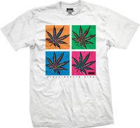 DGK Men S POP T Shirt White Skate Streetwear Clothing Apparel