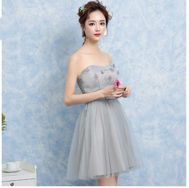 fc386bdc72c ... 14 15 16 17 18 19 Years Teenager Clothes Big Girls Short Evening Dress  2018 Plus