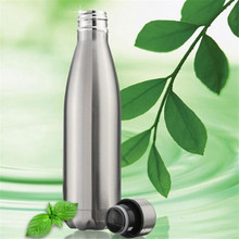 500ml Double Insulation Fruit Bicycle Sports&Outdoor Portable Bike Aluminum Alloy Water Bottle Durable Environmental Friendly