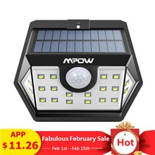 Mpow CD149 20 LED Solar Light Super Bright Lights Waterproof Outdoor Lamp With Sensitive Motion Sensor For Garden Garage Pathway(China)