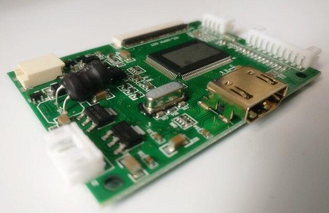 Pantalla LCD de 7 pulgadas 1024*600 HD Monitor de alta resolución controlador Tablero de Control HDMI para Android Windows Raspberry Pi