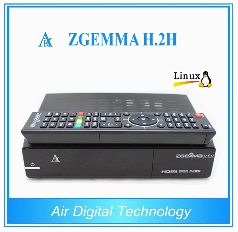 20pcs/lot Best Offer for Original ZGEMMA H .2H Dual Core Combo Satellite TV Receiver DVB-S2 + Hybrid DVB-T2/C TF Card support tt tf ths 02b hybrid style black ver convoy asia exclusive