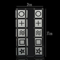 ESP Predicted Plate Stage Magic Tricks Magic Accessories Easy One Cards Street Magic Close Up Mentalism