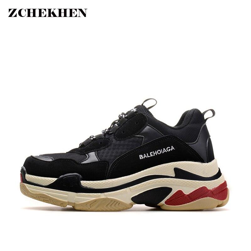 Gli Amanti della moda Scarpe Harajuku Vento Scarpe Retro della Scarpa Da Tennis Scarpe Ins Super-Fuoco Spessa Suola di Scarpe Per Il Tempo Libero