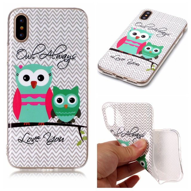coque iphone 8 hibou