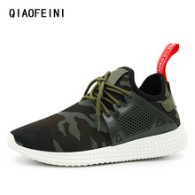 Camouflage outdoor military men shoes ultras boosts Fashion design High quality hot shoes man tenis masculino adulto size 44(China)