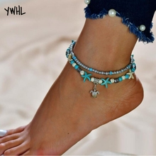 Aliexpress wants to own the new 2019 popular womens beach anklets for rest of their lives