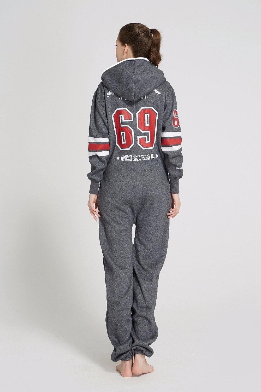 Piece Of Norway Print Onesie All In The One Hoody Fleece Romper Army Unisex Jumpsuit