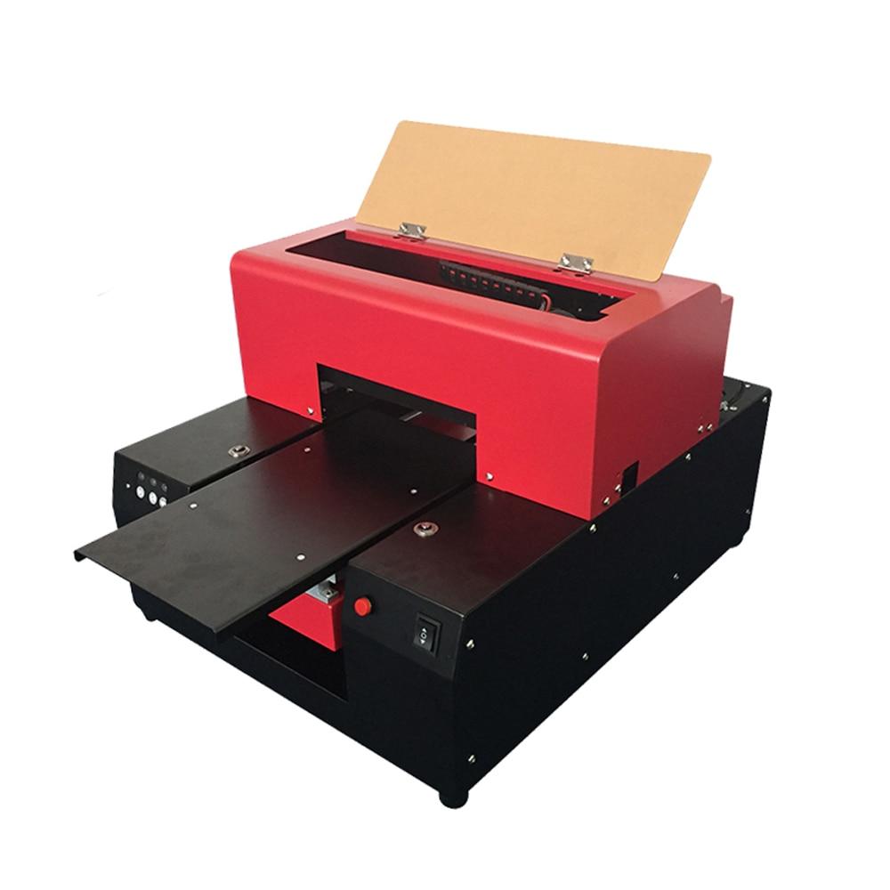 Small uv flatbed printer for tpu phone case prints case 110 220V FullyAutomatic A4 UV Printer 6Colors