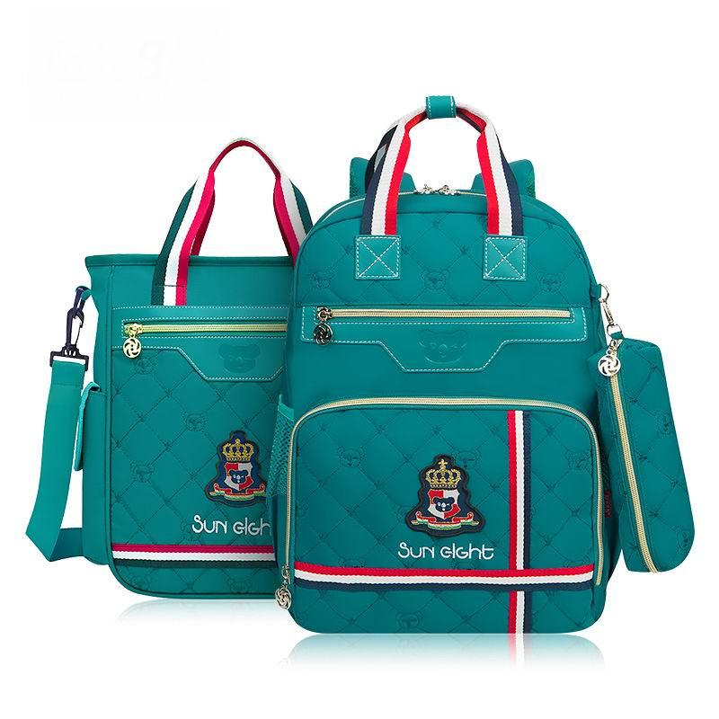 2017 Cute British Style Children School Bags Top Quality Orthopedic Waterproof font b Backpack b font
