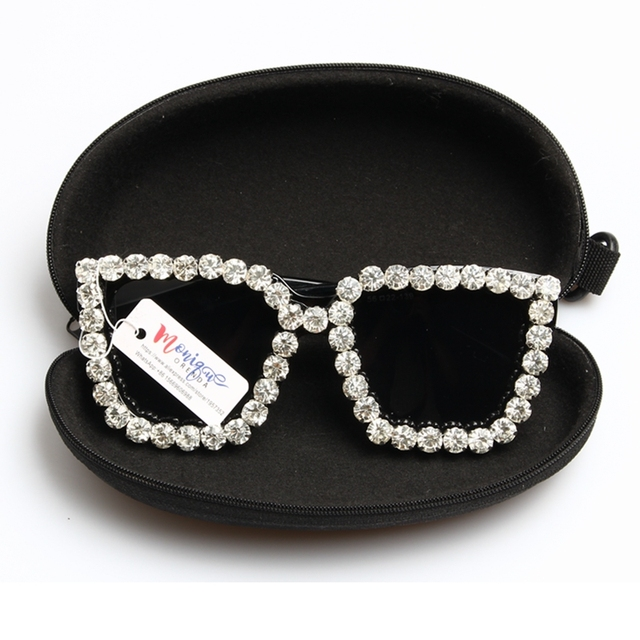 a194f34b7cbc 2017 Sunglasses Women Square Vintage sunglasses Bling Rhinestone Sunglasses  for Women Oversize Sun glasses Summer Style