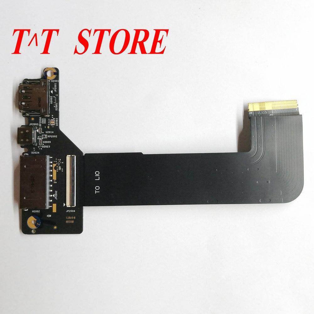★  Оригинальный Lenovo YOGA 4 PRO YOGA 900-13ISK USB-картридер Порт-плата BYG40 NS-A411 с кабелем ★