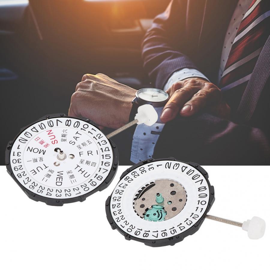 Réparation de montres à trois mains, mouvement de Date, Quartz SL28, accessoires de montre, outils de réparation daffichage de Date