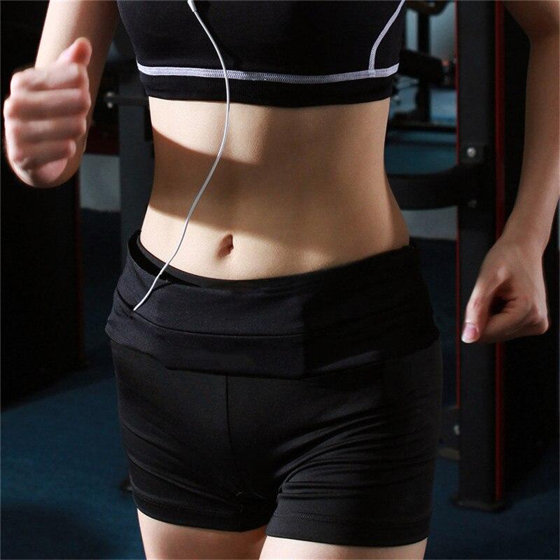 Lady Men Running Phone Bag Pouch Jogging Belt Race Marathon Cycling Waist Belly Bag Bumbag Waistbag Wallet Gym Sport Accessories 9