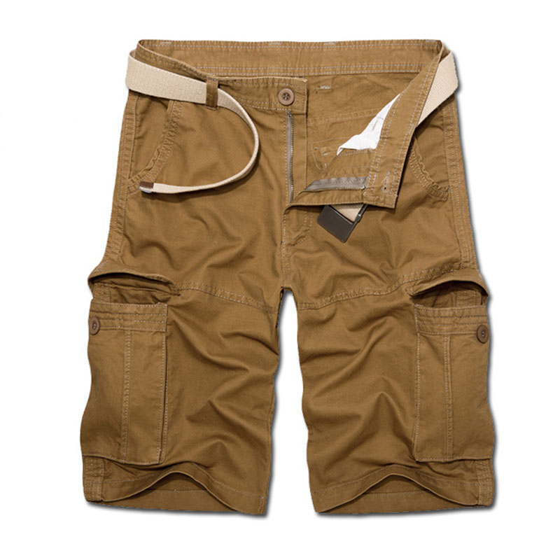 5dde6c388f Aliexpress.com : Buy New Arrival Men Military Short Summer Wear Cargo  Shorts High Quality no belt Cotton Loose Male Tactical Short Pants from  Reliable ...