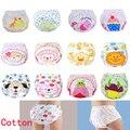 1 unids muchachas de los bebés pañales lavables de tela lindo recién nacidos reutilizables pañales pañales de algodón bragas de esfínteres pañales C20